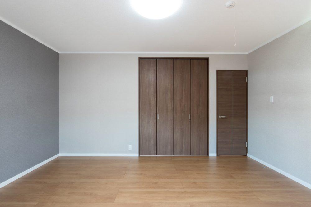 モデルハウス寝室