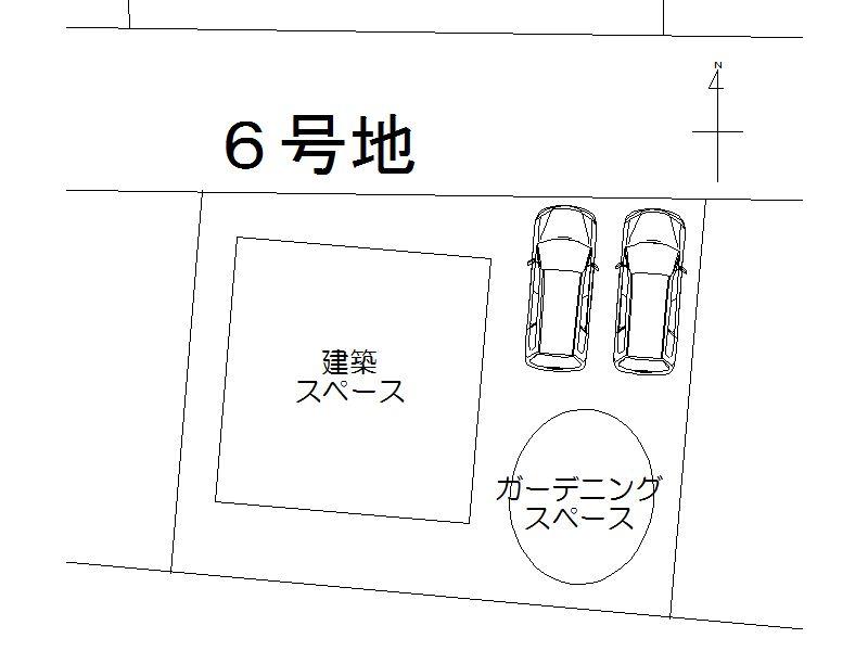 6号地配置図