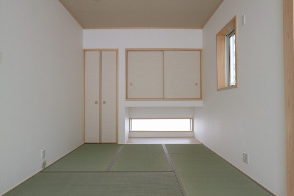 吉見Ⅱ期22号地 タタミコーナー