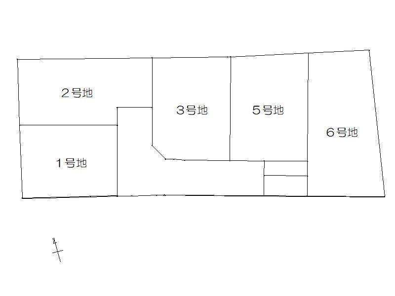 鳥取中Ⅰ期 区画図
