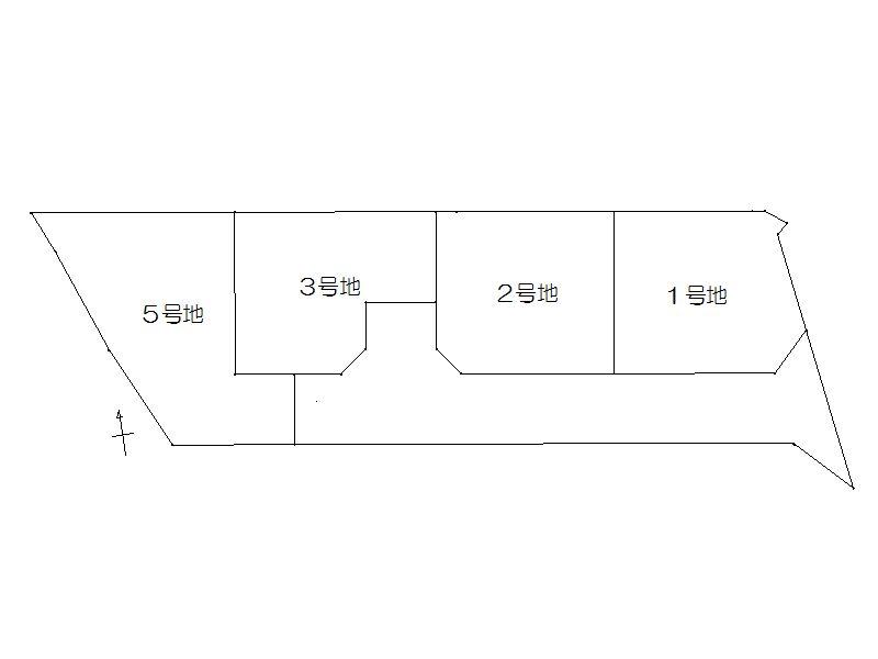 大久保南 区画図