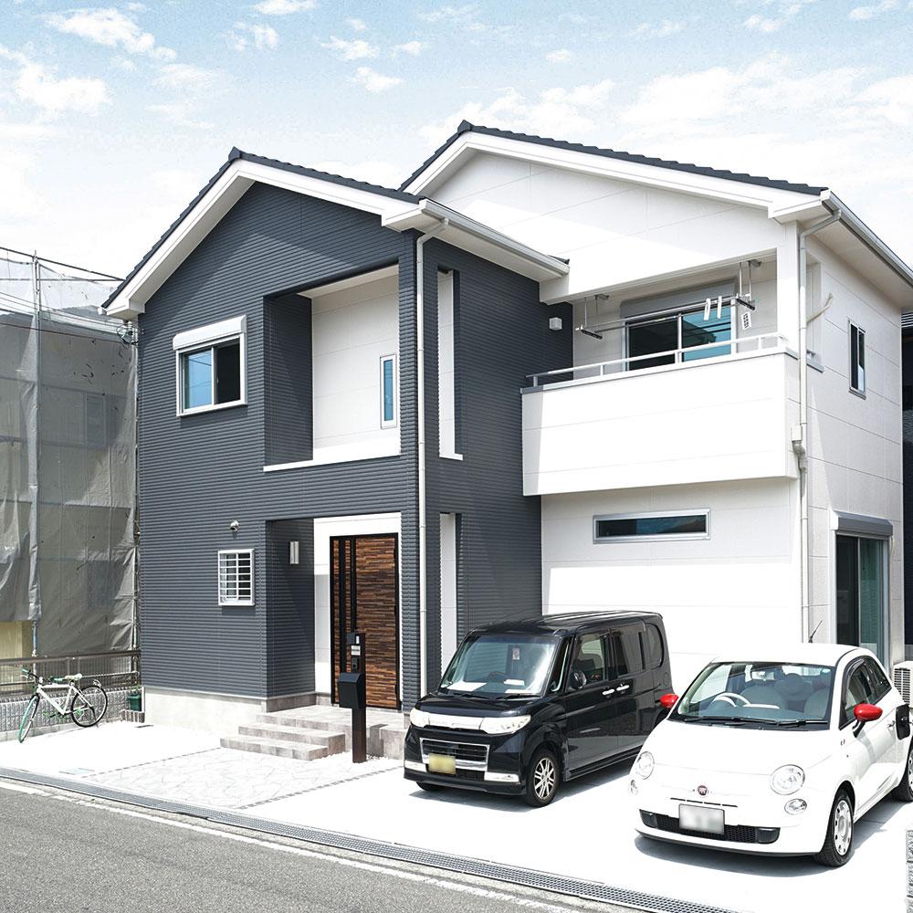 この家に一目ぼれして、即決することに。